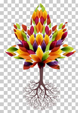 Root Tree Euclidean PNG