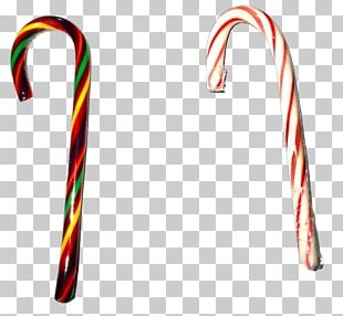 Candy Cane Lollipop Rock Candy Christmas PNG