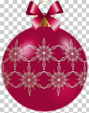 Christmas Ornament Santa Claus Ded Moroz PNG