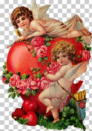 Valentine's Day Love Vinegar Valentines Cupid Greeting & Note Cards PNG