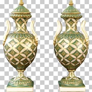 Vase Ceramic 01504 Urn Brass PNG
