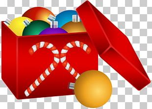 Christmas Ornament Ball Box PNG