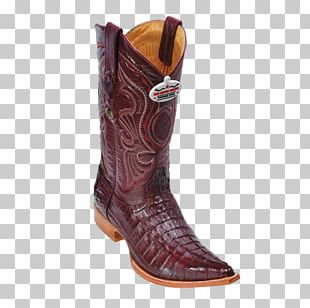 Cowboy Boot Leather Crocodile PNG