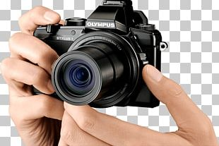 Point-and-shoot Camera Photography Olympus Camera Lens PNG