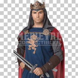 Richard I Of England Middle Ages Knight Costume King PNG