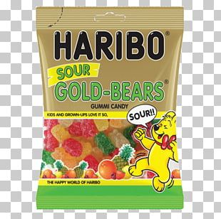 Gummi Candy Gummy Bear Sour Haribo Juice PNG