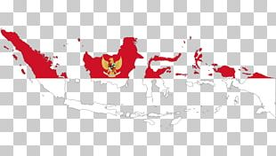 Flag Of Indonesia Map Indonesian PNG