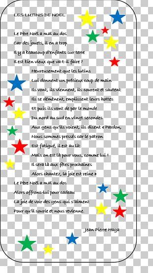 Santa Claus Le Père Noêl Christmas Day Poetry Poema PNG