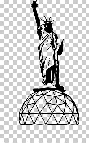 Statue Of Liberty Line Art Drawing PNG