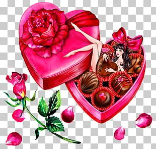 Valentines Day Fashion Illustration Drawing Illustration PNG