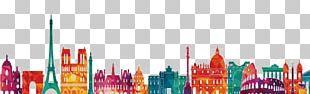 Paris Shanghai Graphic Design Silhouette PNG