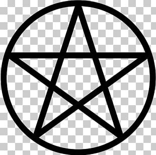 Pentacle Pentagram Wicca Witchcraft Symbol PNG
