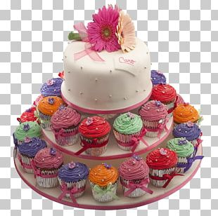 Buttercream Birthday Cake Petit Four Torte Cake Decorating PNG