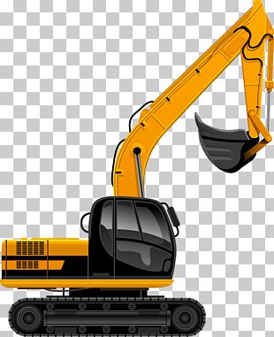 Excavator Architectural Engineering Heavy Equipment PNG