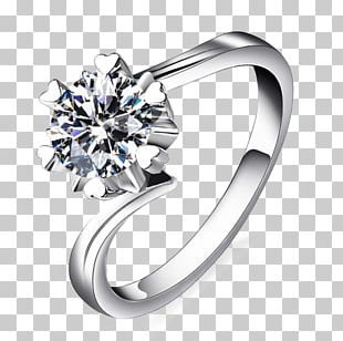 Wedding Ring Diamond Icon PNG