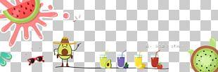 Orange Juice Lemonade Drink Illustration PNG
