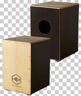 Cajón Sound Box Musical Instruments Drum Percussion PNG
