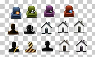 Couch 3D Computer Graphics Icon PNG