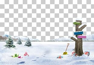 South Korea Winter Poster Photography PNG