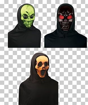 Balaclava Mask Metallic Color Halloween Costume PNG