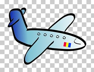 Airplane Black And White PNG