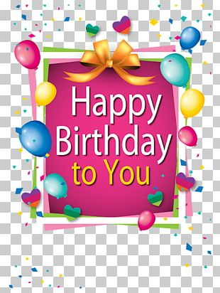 Birthday Cake Greeting & Note Cards Happy Birthday To You Gift PNG