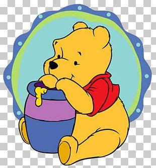 Winnie The Pooh Piglet Eeyore Tigger Cartoon PNG
