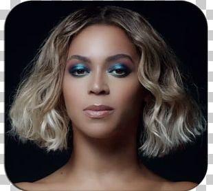 Beyoncé Cosmetics Blue Smokey Eyes Make-up PNG