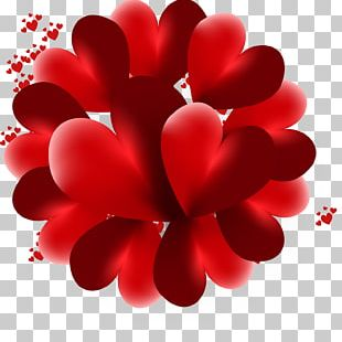 Heart Love Valentine's Day 3D Computer Graphics PNG