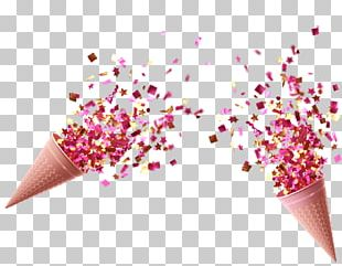 Confetti Paper Wedding Party PNG