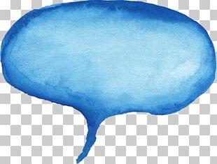 Speech Balloon Watercolor Painting Comics Bubble PNG