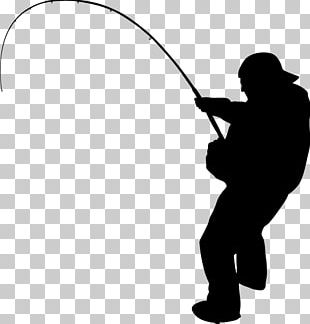 Fishing Silhouette Fisherman PNG