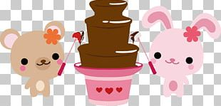 Fondue Chocolate Brownie Chocolate Bar Hot Pot Chocolate Fountain PNG