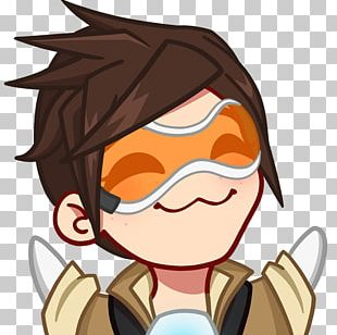 Overwatch Tracer Emote Twitch PlayStation 4 PNG