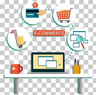 Digital Marketing Web Development E-commerce Online Shopping Online And Offline PNG