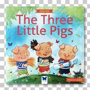 The Three Little Pigs Little Red Riding Hood Book Fairy Tale PNG