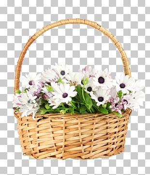 Flower Bouquet Basket Stock Photography PNG