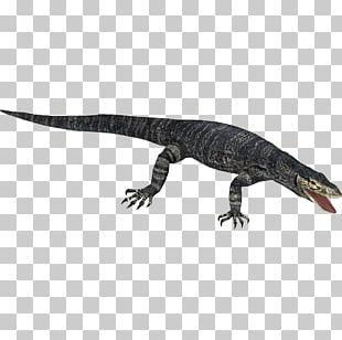 Zoo Tycoon 2 Reptile Lizard Nile Monitor PNG