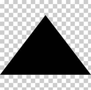 Black Triangle Computer Icons PNG