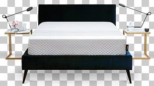 Bed Frame Mattress Pads Memory Foam Serta PNG