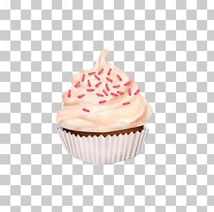 Cupcake Petit Four Muffin Buttercream PNG