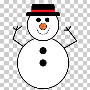 The Snowman Cartoon Illustration PNG