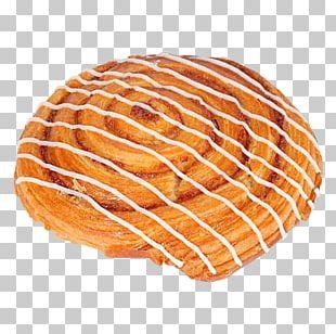 Cinnamon Roll Danish Pastry Donuts Bread PNG