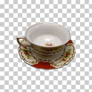 Saucer Tableware Porcelain Ceramic Coffee Cup PNG
