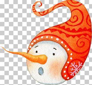 Snowman Surprise PNG