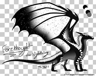 Wings Of Fire Dragon Drawing Nightwing Art PNG