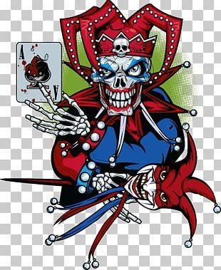 Evil Clown Art Joker Jester PNG