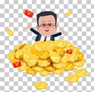 Food Gold Coin Gold PNG