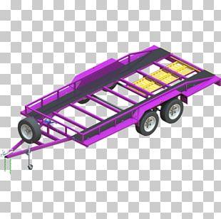 Car Carrier Trailer Semi-trailer Truck Vehicle PNG