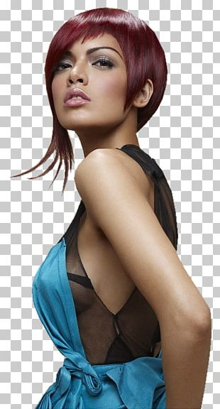 Bangs Hairstyle Hair Coloring Cosmetologist Capelli PNG
